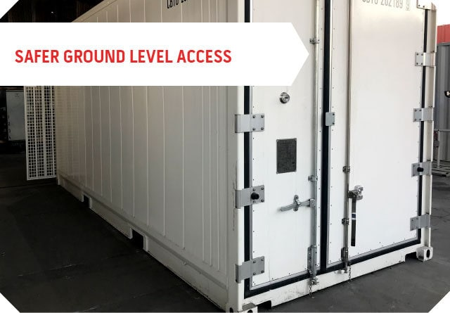 safer ground level access